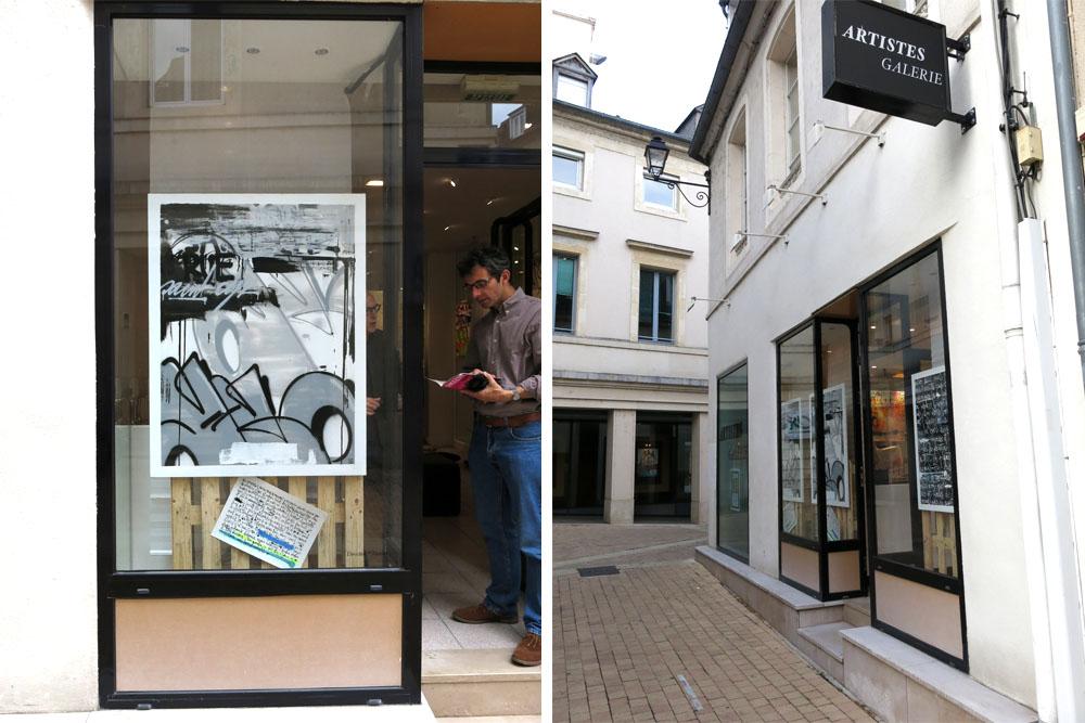 Sismikazot expo fen tre sur rue artistes galeries for Fenetre sur rue